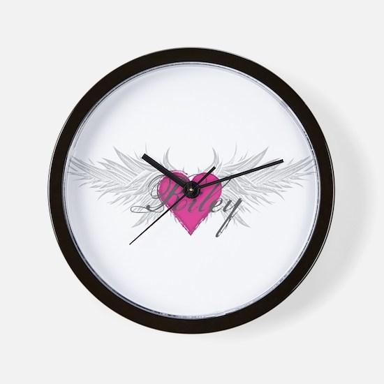Riley-angel-wings.png Wall Clock