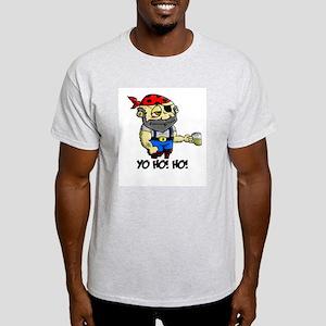 Pirate (Yo Ho Ho) Ash Grey T-Shirt