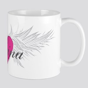 Reina-angel-wings Mug