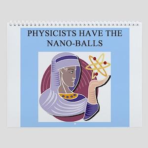 funny Physics 3 Wall Calendar