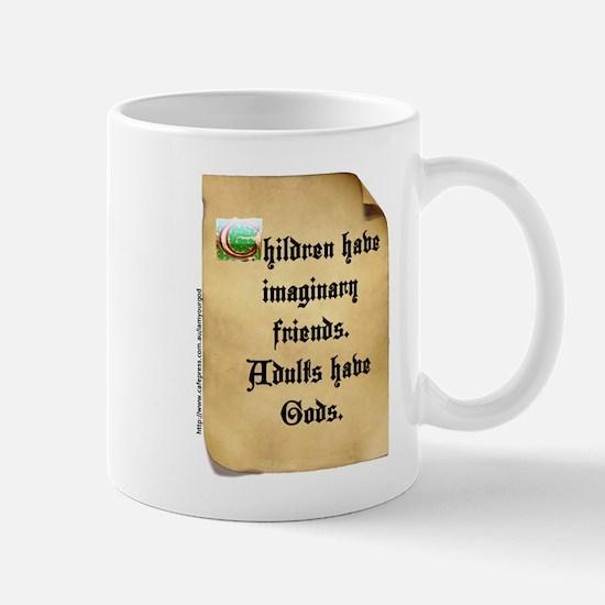 God and Imaginary friends Mug
