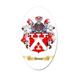 Aymes Oval Car Magnet