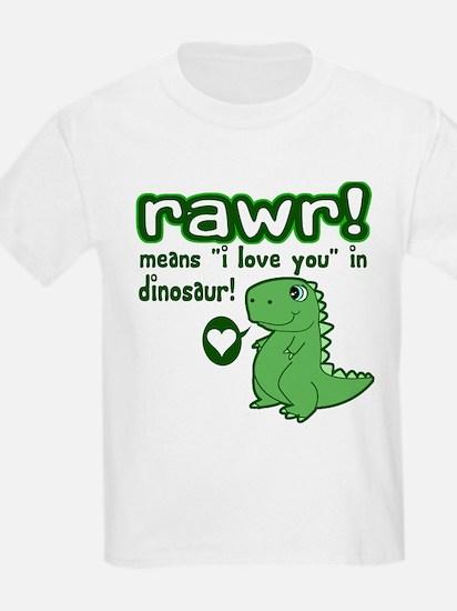 Cute! RAWR Means Love T-Shirt
