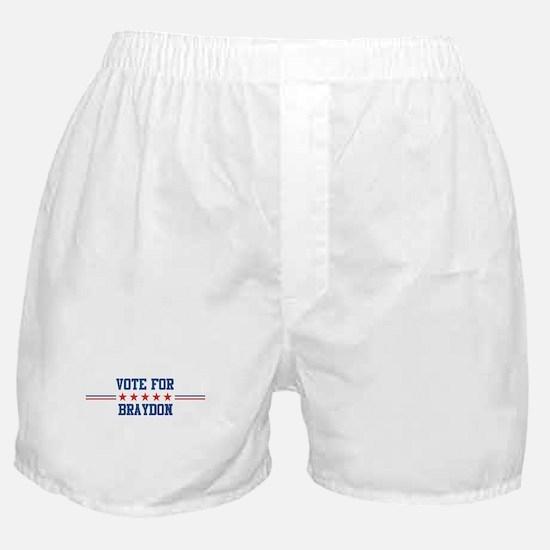 Vote for BRAYDON Boxer Shorts