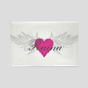 Raina-angel-wings.png Rectangle Magnet