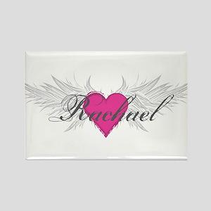 Rachael-angel-wings Rectangle Magnet