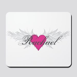 Rachael-angel-wings Mousepad