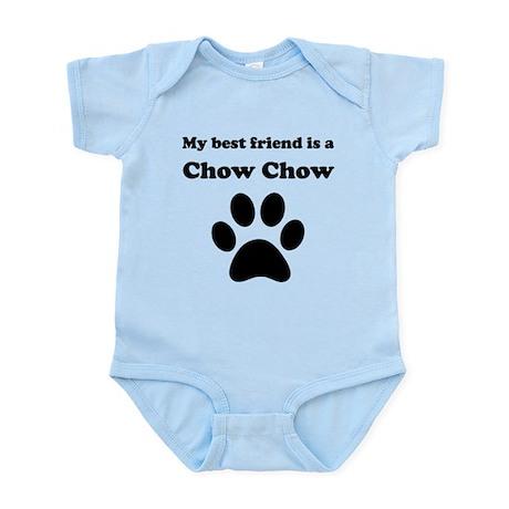 Chow Chow Best Friend Infant Bodysuit