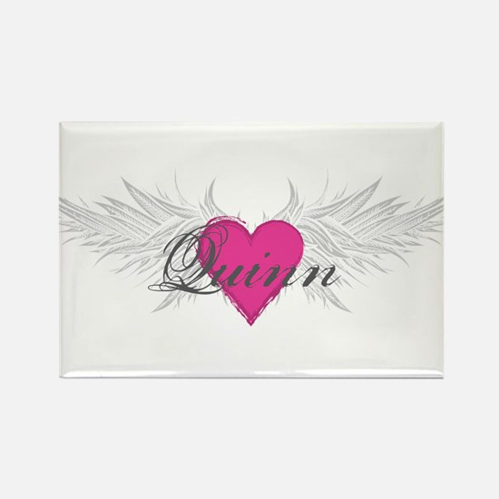 Quinn-angel-wings.png Rectangle Magnet