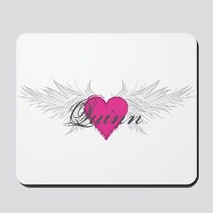 Quinn-angel-wings Mousepad
