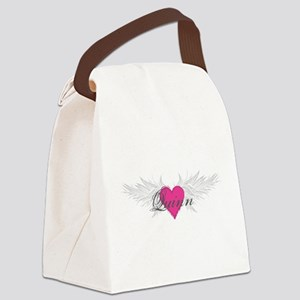 Quinn-angel-wings Canvas Lunch Bag