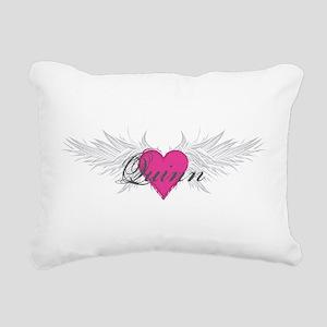 Quinn-angel-wings Rectangular Canvas Pillow