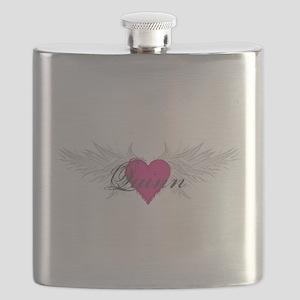 Quinn-angel-wings Flask