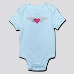 Quinn-angel-wings Infant Bodysuit