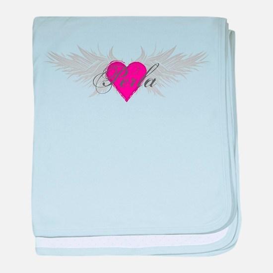 Perla-angel-wings.png baby blanket