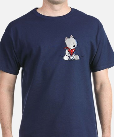 Pocket Westie Valentine T-Shirt
