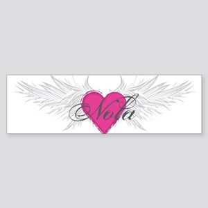 Nola-angel-wings Sticker (Bumper)