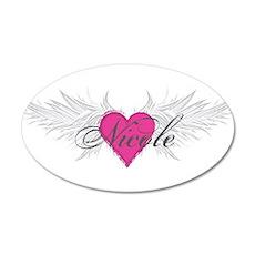 Nicole-angel-wings.png Wall Decal