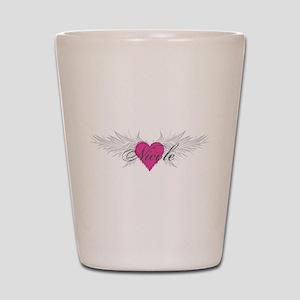 Nicole-angel-wings.png Shot Glass