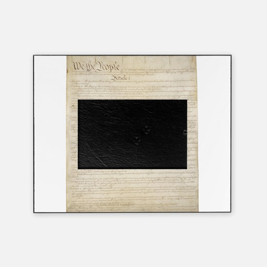 The Us Constitution Picture Frame