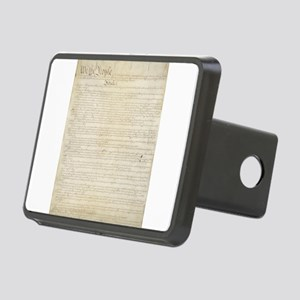 The Us Constitution Rectangular Hitch Cover