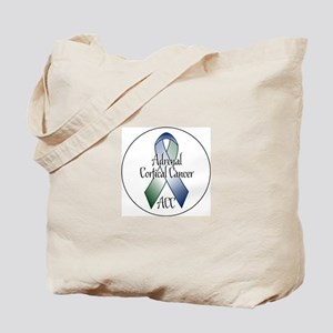 Adrenal Cortical Cancer Awareness Tote Bag