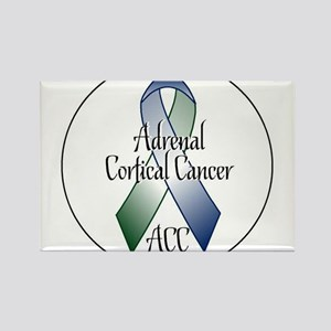 Adrenal Cortical Cancer Awareness Rectangle Magnet