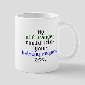 Elf Ranger > Halfling Rogue Mug