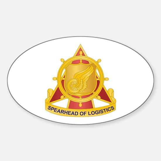 Transportation Corps Sticker (Oval)
