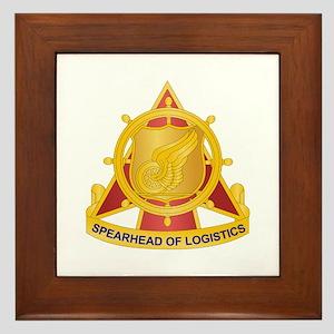 Transportation Corps Framed Tile