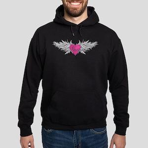 Nadia-angel-wings.png Hoodie (dark)
