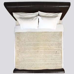 The Us Constitution King Duvet