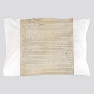 The Us Constitution Pillow Case