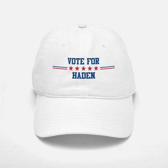 Vote for HADEN Baseball Baseball Cap