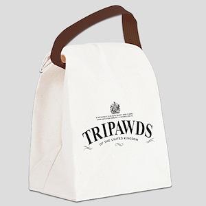 Tripawds Tea Brand Canvas Lunch Bag