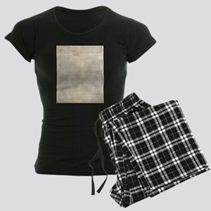 The Us Constitution Women's Dark Pajamas