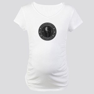 I THINK, THEREFORE I AM ARMED Maternity T-Shirt