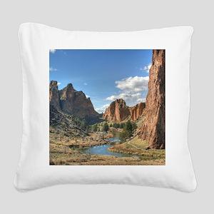 Smith 1 Square Canvas Pillow
