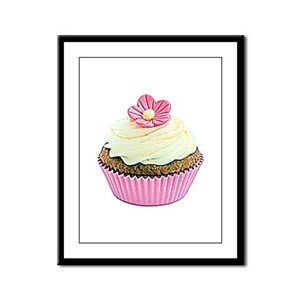 DREAM CAKE * Framed Panel Print
