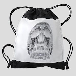 Crystal Skull Drawstring Bag