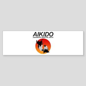 Aikido 3 Sticker (Bumper)