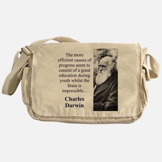 The More Efficient Causes - Charles Darwin Messeng