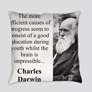 The More Efficient Causes - Charles Darwin Everyda