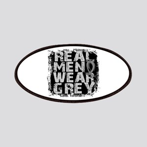 Real Men Brain Cancer Patches