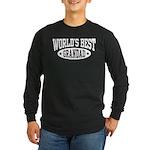World's Best Grandad Long Sleeve Dark T-Shirt