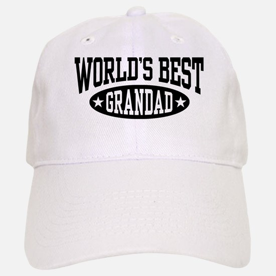 World's Best Grandad Baseball Baseball Cap