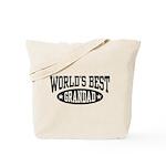 World's Best Grandad Tote Bag