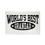 World's Best Grandad Rectangle Magnet