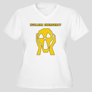 Nuclear Emergency Women's Plus Size V-Neck T-Shirt