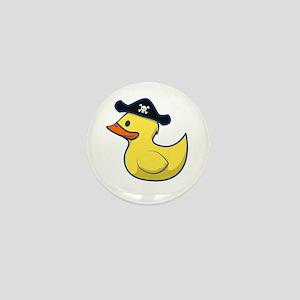 Pirate Duck Mini Button
